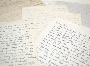 Pile of letters written by Jack Peirs 1915-1919