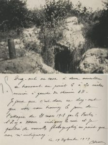 One of the photos in which the mayor sent to Peirs. This was believed to have been his command HQ during the battle.